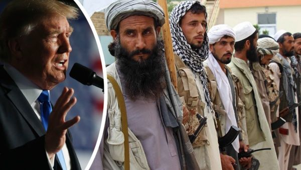 """We are not nation building again. We are killing terrorists,"" Trump said."