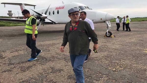 El máximo dirigente de las FARC-EP utilizó las redes sociales para denunciar los asesinatos de exmiembros del grupo.