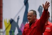 The first Vice President of the United Socialist Party of Venezuela (PSUV) and elected Constituent Assembly member Diosdado Cabello.