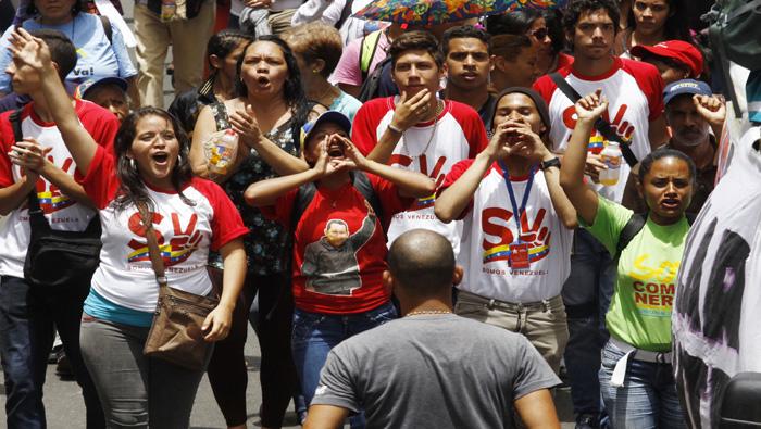 Venezolanos marchan este sábado en apoyo a ejercicios militares