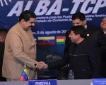 Venezuela's President with members of ALBA