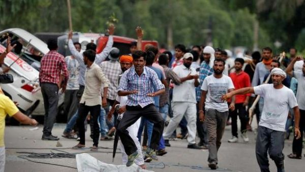 Curfews have been imposed in several areas of Chandigarh city and across the state of Punjab, and internet services were suspended.
