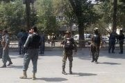 Many security forces personnel were expected to be collecting their salaries ahead of this week's Eid holiday.