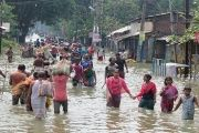 The monsoon floods in South Asia have caused major devastation.