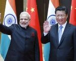 India's Prime Minister Narendra Modi and China's President Xi Jinping.