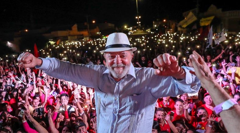 El expresidente de Brasil, Luiz Inácio Lula da Silva, inició el 17 de agosto una caravana que contempla la visita a nueve estados del nordeste brasileño, la región más pobre del país, y de la que es oriundo el exmandatario.