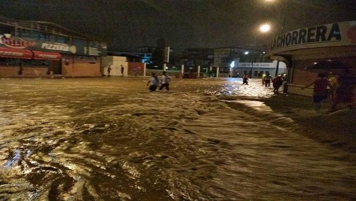Declaran emergencia en ciudad ecuatoriana de Tena tras lluvias