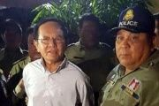 Sokha, who was arrested Sunday morning, is been accused of colluding with the United States.