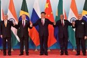 Xi (C) said, over the past decade, the Brics countries have grown their partnership is several ways.