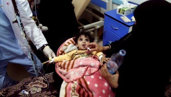ore than half a million people in Yemen have been infected with cholera since the epidemic began four months ago.