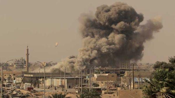 "Israel lanzó ""varios misiles"" en Masyaf."