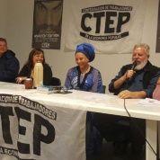 Piedad Córdoba y un encuentro con la economía popular