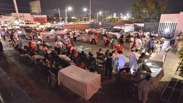 Peña Nieto: El terremoto en México es el de mayor magnitud en los últimos 100 años