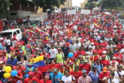 A march is being organized in the Venezuelan capital on Monday
