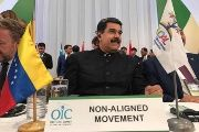 President Nicolas Maduro of Venezuela attends the Summit of the Organization for Islamic Cooperation, Sept. 10, 2017.