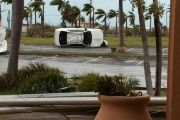 Hurricane Irma caused extensive damage to the Caribbean island of Barbuda.