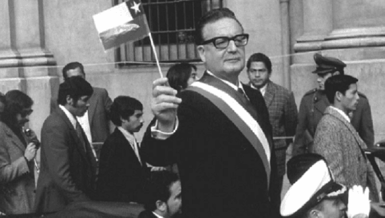Allende and his government became a symbol of socialist resistance throughout the world.