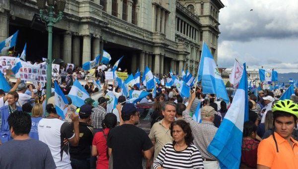 Resultado de imagen para crisis en guatemala