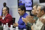 Venezuela's President Nicolas Maduro makes the announcement in the Council of Ministers