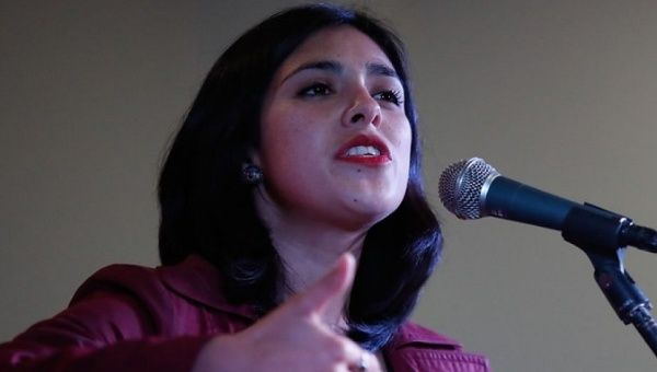 Karol Carolia, member of Chilean parliament and the Communist Party of Chile.