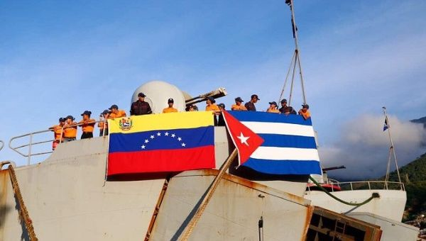The shipment was the second from Venezuela to Cuba.