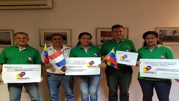 Varios movimientos sociales de los cinco continentes han manifestado su apoyo a la paz y al diálogo en Venezuela.