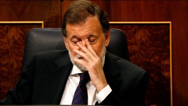 """Mariano Rajoy se opone a la consulta independentista de Cataluña. """"Vamos a demostrar que la democracia española sabe defenderse de los enemigos"""", ha dicho."""