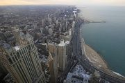 A general view of the city of Chicago, March 23, 2014.