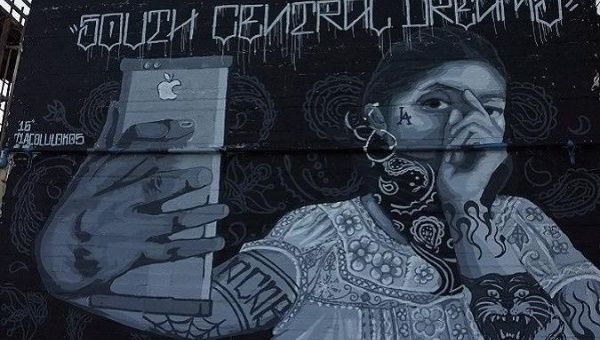 """South Central Dreams"" mural in Los Angeles."