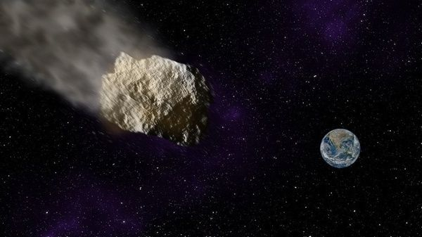 La Luna se encuentra a unos 384.403 kilómetros de la Tierra.