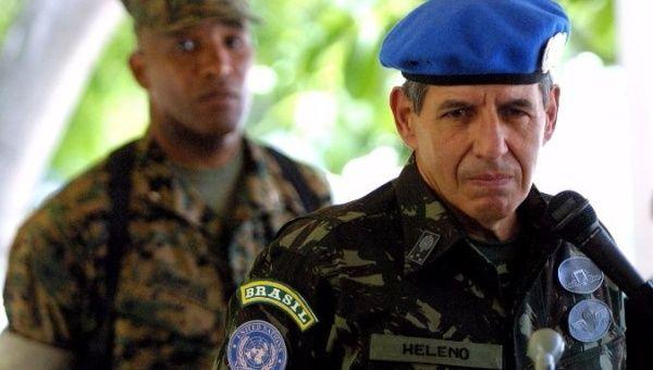 General brasileiro Augusto Heleno.