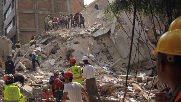 La semana pasada un sismo de ocho grados sacudió el sur de México y dejó 98 muertos.