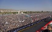 Tens of thousands of supporters of Yemen