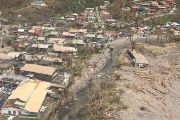 Hurricane Maria has destroyed the Caribbean island of Dominica.