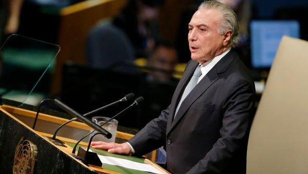 New Graft Charges Against President Temer Sent to Brazil
