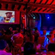 "TTFF screening of the short film ""Redman"" at The Shade Nightclub in Tobago"