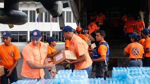 Llega a México ayuda solidaria de Venezuela para damnificados por sismo