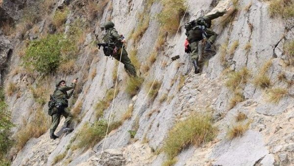 Pakistan and Russia carried out mountain training exercise in Pakistan in 2016.
