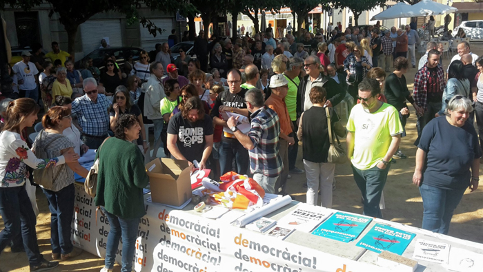 """La pregunta del referendo será """"¿Quiere que Cataluña sea un Estado independiente en forma de república?""""."""