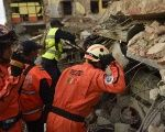 Rescue workers look for survivors still trapped under the rubble in Mexico.