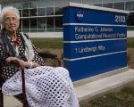 Former Mathematician Katherine Johnson was hired by NASA in 1953.