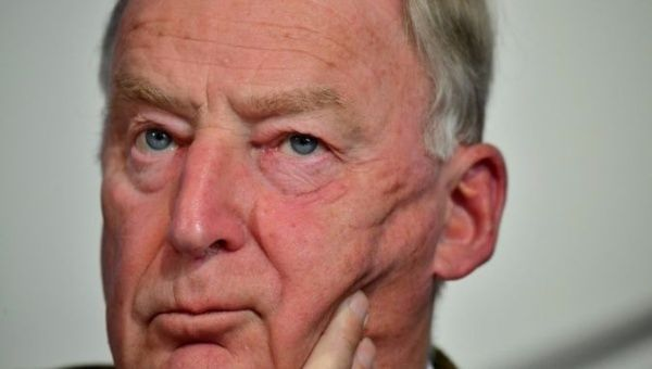 "Gauland said the AfD had been elected ""to uncompromisingly address"" immigration issues."