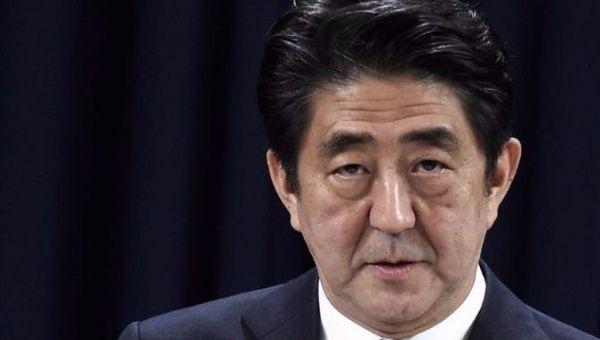 Prime Minister Shinzo Abe of Japan.