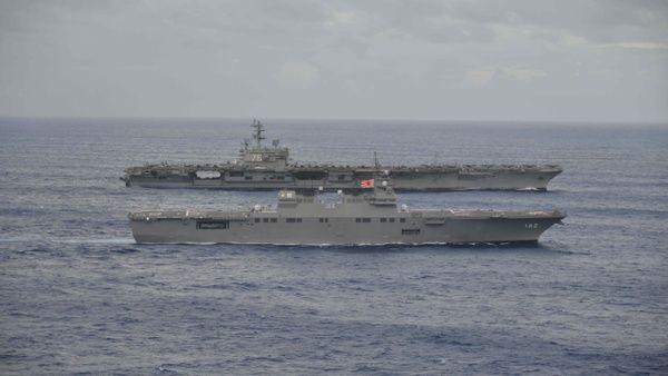 États-Unis  maintient une étroite alliance militaire avec le Japon, voisin de Corée du Nord.