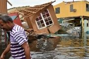 Flooding and wind from Hurricane Maria caused widespread damage in Puerto Rico.