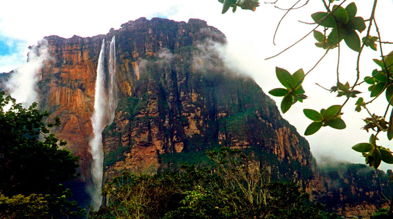 Angel Falls in Venezuela is the highest waterfall in the world at 979 meters.