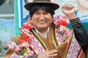 Evo Morales is the first Indigenous president of Bolivia.