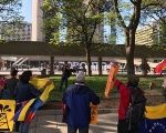 A rally in Toronto earlier this year in support of Venezuela
