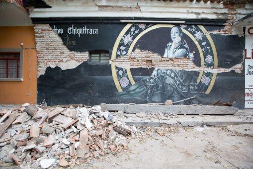 La Memoria En Las Paredes El Sismo Y Los Murales Del Colectivo
