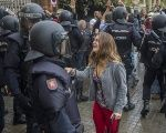 The Spanish police have been accused of sexually abusing protesters during the Catalan independence referendum.